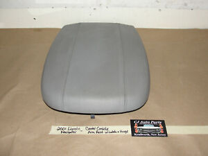 2001 Lincoln Navigator Center Console Arm Rest Pad Cushion With Hinge Latch