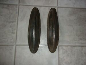 1934 Chevrolet Accessory Bumper Guards Front And Rear Very Nice Original Pair