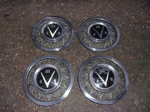1953 54 Buick Accessory Wire Hub Caps Set Of Four 4
