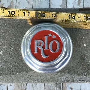 Vintage Nos 20 s Rio Motor Car Co Center Hub Dust Cap