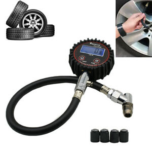 1x Car Tyre Pressure Gauge Motorbike Digital Air Auto Tire Meter Tester Us Stock