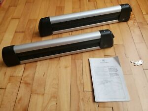 Mercedes Benz Oem Ski And Snowboard Rack Roof Carrier With Lock