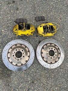 08 13 Bmw E90 E92 E93 M3 Front Alcon Brakes Calipers Rotors Bbk