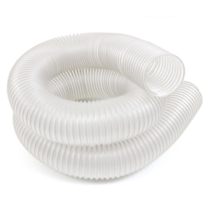 Dust Extractor Hose Collector 4 In X 10 Ft Universal Clear Workshop Cleaner New