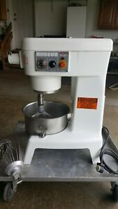 Berkel Ef 20 20 Qt Mixer And Attachments nice lowest On Ebay