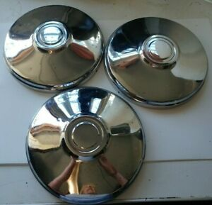Buick Oldsmobile Dog Dish Poverty Hubcaps Center Caps 9 1 2