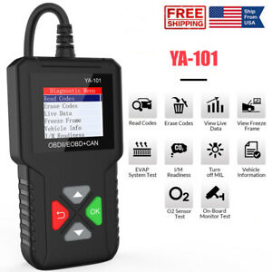 Universal Auto Obd2 Code Reader Car Check Engine Fault Diagnostic Tool Scanner
