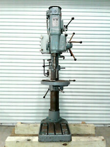 Victoria Elliot Heavy Duty Geared Head Drill Press Progress 4e Floor Pedestal
