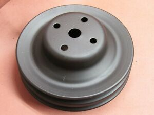 1971 79 Pontiac V8 2 Groove Water Pump Pulley 481040 A C Pwr Steering
