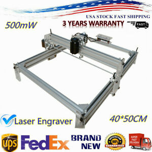 Mini Laser Engraving Machine 500mw Pcb Milling Wood Router Desktop Diy Printer