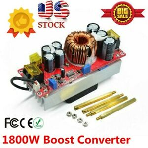 1800w 40adc dc Boost Converter Step Up Regulator Power Module Constant Current