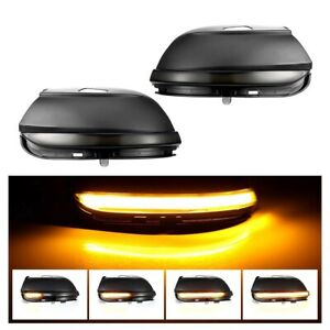 Led Turn Signal Light Side Mirrors Dynamic for Vw Scirocco Mk3 Passat B7 Cc