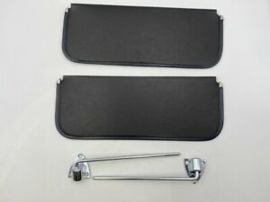 1940 1941 1942 1944 1945 1946 1947 Ford Pickup Truck Sun Visor Kit Chrome Black