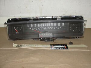 74 Buick Apollo 2 Dr Chevy Nova Instrument Cluster Speedometer Shift Indicator