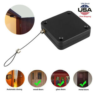 Punch free Automatic Sensor Door Closer Portable Home Office Doors Self Closing
