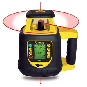 Sitepro Dual Grade Rotary Laser With Lcd Remote Control 27 slr202 gr
