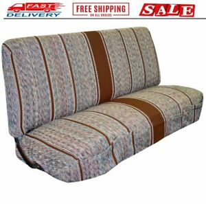 New Saddle Blanket Truck Bench Seat Cover Fits Chevrolet Dodge Ford Trucks Brown