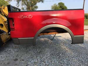 Ford F150 5 1 2 Pickup Box F 150 Short Bed Red And Tan 04 08