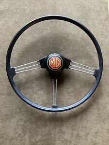 Vintage Mg 16 Banjo Steering Wheel 1968 1969