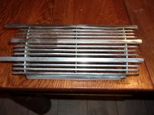 1940 Ford Chrome Radio Dash Deluxe Grille