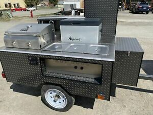 Brand New 2020 5 X 5 Hot Dog Concession Cart New Street Food Cart For Sale