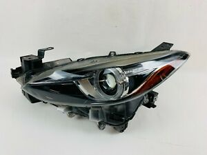 2014 2015 2016 Mazda 3 Xenon Headlight Afs Left Driver Lh Oem