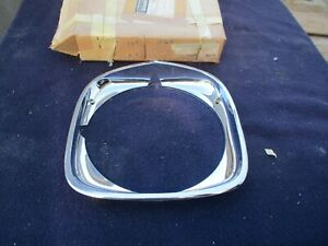 Nos 1973 Pontiac Grand Prix Gp Chrome Right Headlight Bezel 73