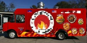 2001 26 Ford Tk Food Truck With A Fully Loaded 2020 Kitchen Build out For Sal