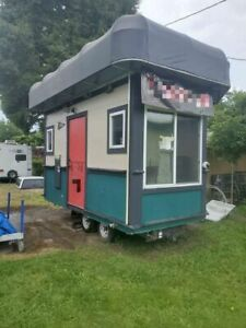 One of a kind Class Iv Kitchen Food Trailer unique Mobile Kitchen For Sale In Or