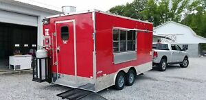 2017 Freedom 8 5 X 16 Mobile Kitchen Food Concession Trailer For Sale In Delaw