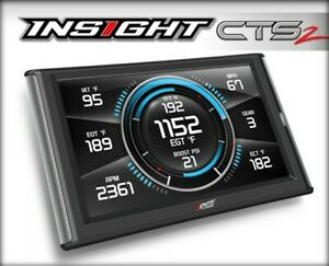 Edge Products 84130 Insight Cts2 Digital Gauge Monitor Ram Gmc Chevy Diesel Ford
