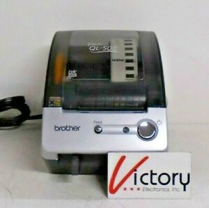Used Brother Industries P touch Ql 500 Thermal Label Printer 120v 60hz 0 8a