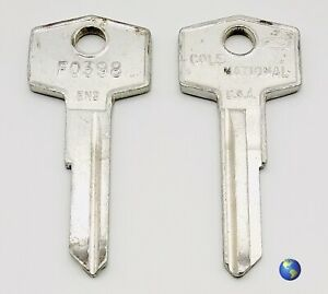 F0398 en2 Key Blanks For Various Models By Jaguar Triumph And Others 2 Keys