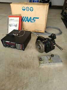Haas 5c Cnc Collet Indexer W Servo Control Box Original Box Tested Working