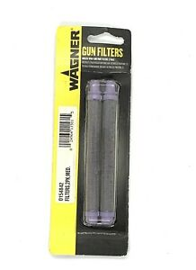 Wagner 0154842 Gun Filter 50 Mesh Medium 2 Pack Airless Paint Spray