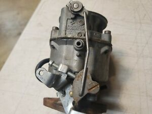 1957 Chevy 235 6 Cylinder Rochester 1 Barrel Carburetor Oem Original Used