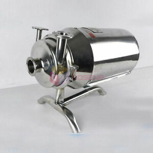 Stainless Steel Sanitary Pump Sanitary Beverage Milk Delivery Pump 220v 1t 370w