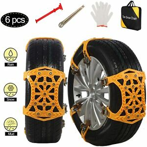 Snow Tire Chains For Cars Anti Slip Tire Chains Anti skid Wheel Traction Chains