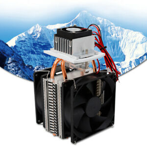 Refrigeration Thermoelectric Module Peltier Watercooler Coolingsystem Diy Kitnew