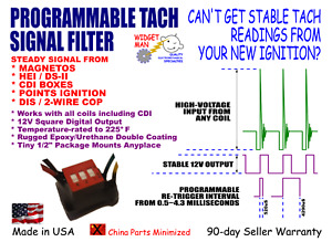 Tach Tachometer Filter Adapter Stable Signal From Magneto Hei Points Cdi Box
