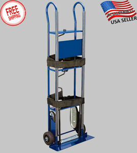 Hand Truck Cart Heavy Duty 600lb Industrial Appliance Moving Dolly Stair Climber