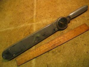 Snap On 1 2 Drive Torqometer Tg150 Torque Wrench 0 150 Ft Lb