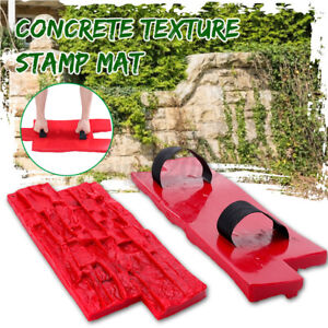 Slate Seamless Texture Polyurethane Stone Stamp Mat Concrete Cement Wall Pad