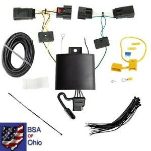 Trailer Hitch Wiring Tow Harness For Jeep Wrangler Jl 2018 2019 2020 2021