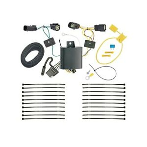 Trailer Hitch Wiring Tow Harness For Chevrolet Equinox Premier 2018 2019 2020