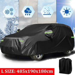 Large Full Suv Car Cover Waterproof Oxford Sun Uv Dust Snow Resistant Protection