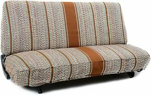 Saddle Blanket Truck Bench Seat Cover Fits Chevrolet Dodge Ford Trucks Brown New