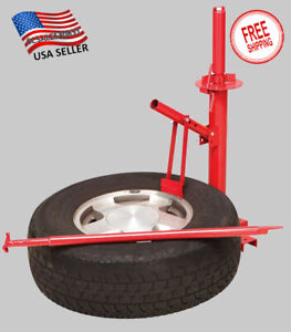 Portable Tire Changer Car Truck Motorcycle Manual Bead Breaker Tool Machine New