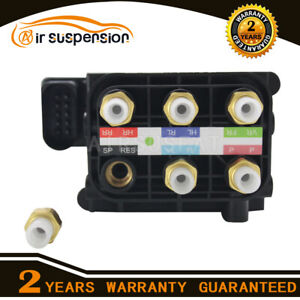 Air Suspension Comprssor Solenoid For Q7 Vw Touareg Porsche Cayenne Valve Block