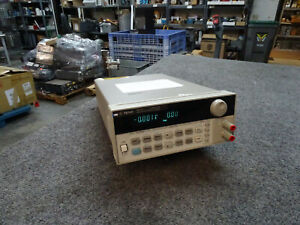 Agilent 6611c Low Noise Programmable Lab Power Supply 0 8v 0 5a Untested